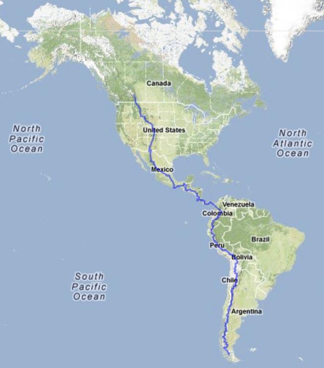 20130323-Americas trip map