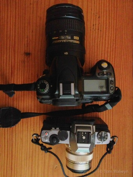 One of the earliest kit upgrades I made when we got back from the 20 month Americas Trip was to invest in a smaller/lighter system than the Nikon DSLR I'd carried for 28,000km