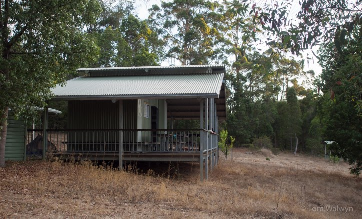 We had all the huts to ourselves, including this one on the last night before Manjimup.  Our hut-mates over New Year had praised it highly.
