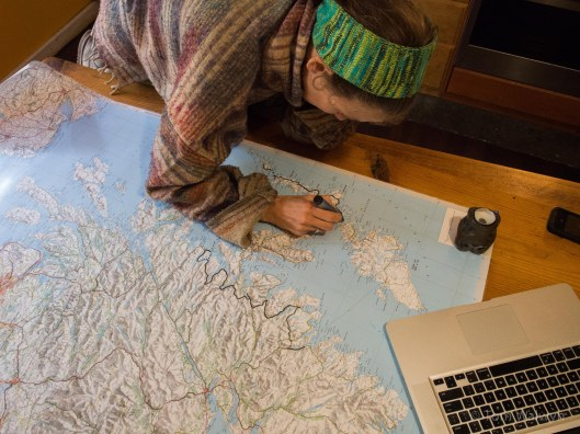 It's always more real when laid out on a 'proper map' :-)