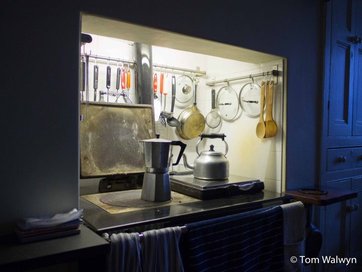 The centre of the house - a place of warmth, coffee and food