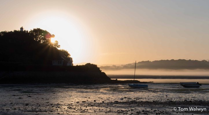 There are a few really quite early mornings spent wondering down the road to the harbour