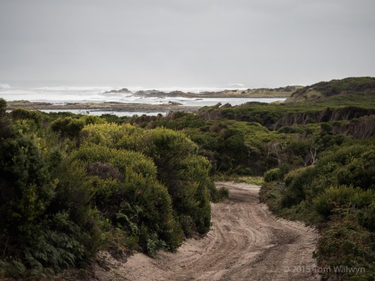 Granville to Pieman Heads is a mixture of well-used 4WD track and beach - all with the ever-present pounding surf
