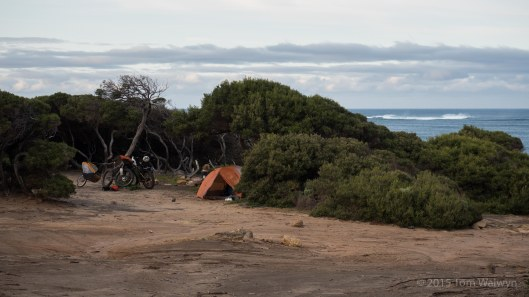 The Margaret River region is defined by wine, but also by surfing with a multitude of very rideable 4WD tracks accessing the various breaks. There are quite a few unsung camping spots too